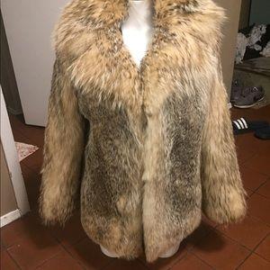Vintage Renfrew Calgary Wolf fur Coat